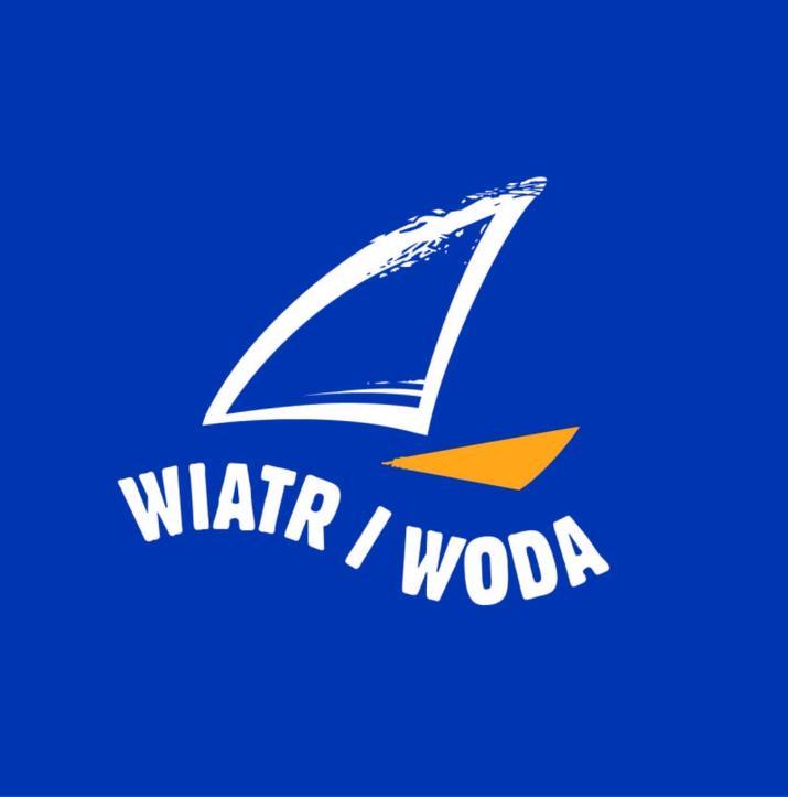 """Logo Targów """"Wiatr i Woda"""""""