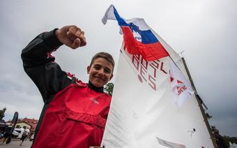 Rok Verderber - mistrz świata klasy Optimist w 2015 r.