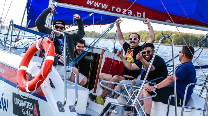 Rekordowa frekwencja w Żeglarskich MP YouTuberów o Puchar Róży Wiatrów!