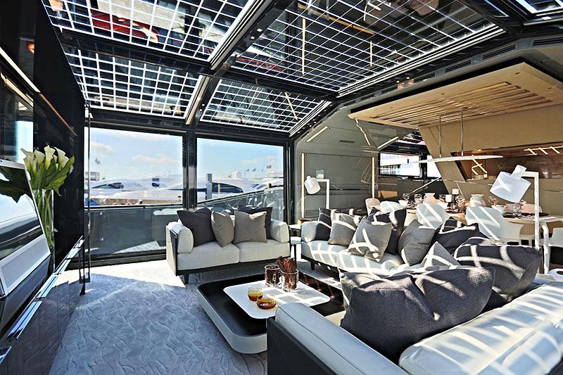 Jacht A100+ włoskiej stoczni Arcadia