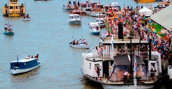 2015 Wooden Boat Festival. W Australii święto drewnianych łodzi
